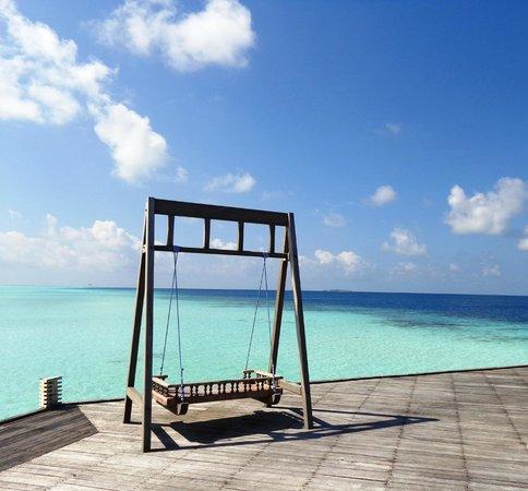 Olhuveli Beach & Spa Maldives: Beach area