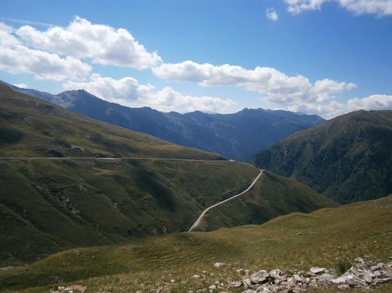Val Sarentino: Estremità valle verso passo Pennes