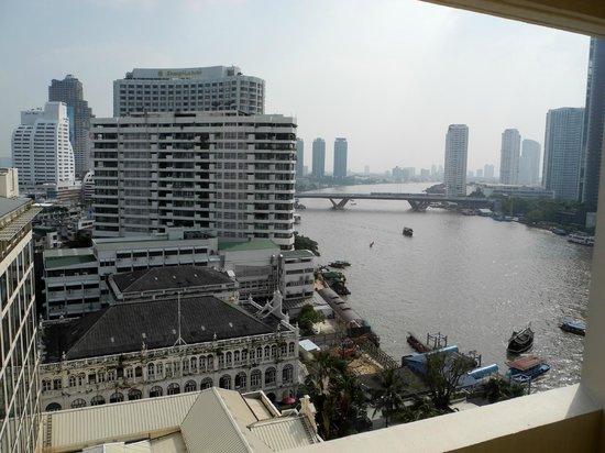 Mandarin Oriental, Bangkok: Zimmeraussicht auf Fluss