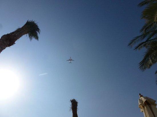 Avion au dessus