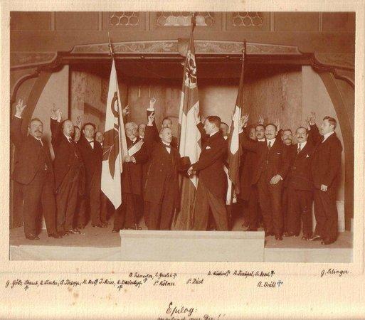 Das Spiel der Safran Zunft anno 1934