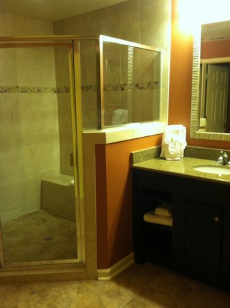 The Colonies at Williamsburg Resort: Ginormous bathroom :)