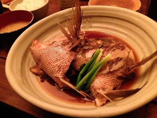 Uosho Ginpei Dotonboriten : 鯛の煮魚