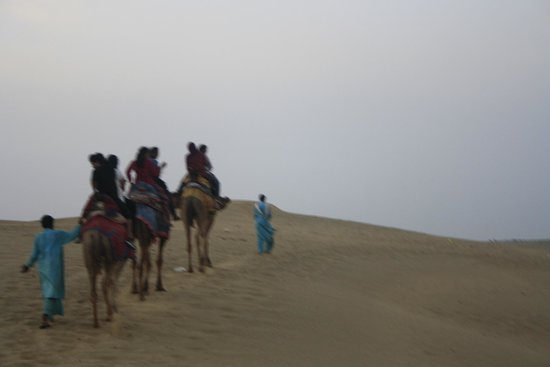 Haveli Hotel : camel ride