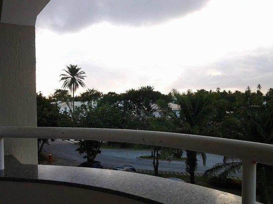 Bahia Plaza Hotel : vista frontal da varanda