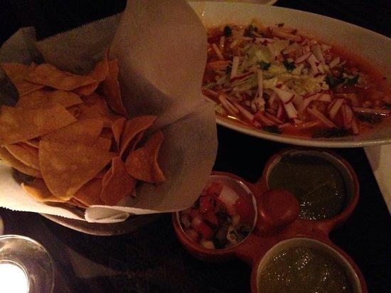 El Tule Authentic Mexican & Peruvian Restaurant: Now that's a soup!