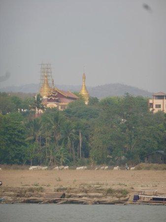 Ayeyarwaddy River: paisaje