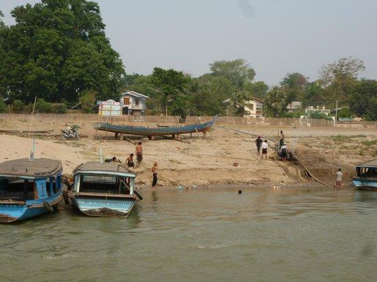 Ayeyarwaddy River: desde el barco
