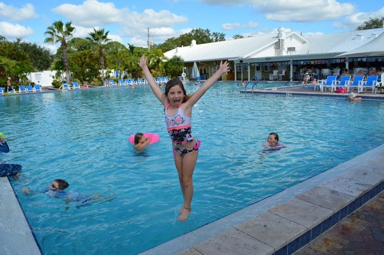 Sun N Fun Resort and Campground: Pool so warm you can just Jump In!