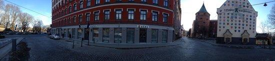 Astor Riga Hotel & Conference: Панорама. отель Astor Riga