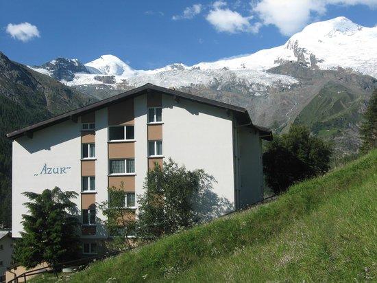 Ferienwohnungen Apartments Azur: Hausansicht Norden