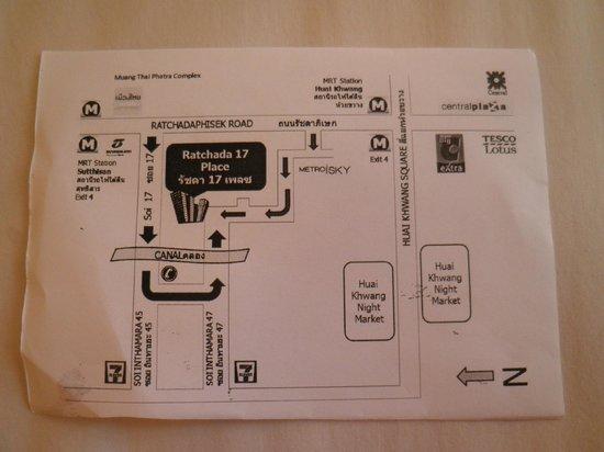 Ratchada 17 Place : ホテルカード
