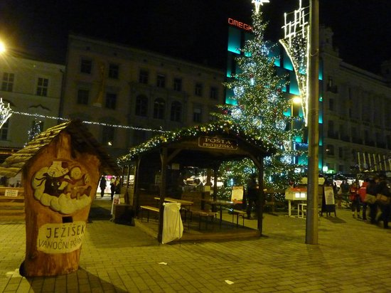 Namesti Svobody: Рождественские торги