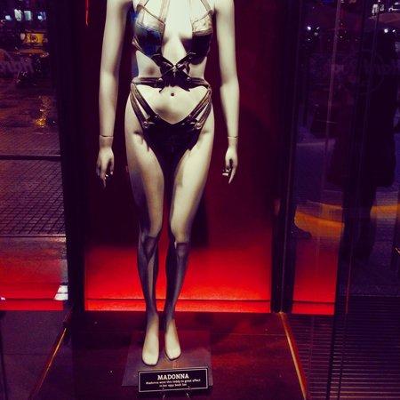 Hard Rock Cafe : Madonna Hard Rock Barcelona