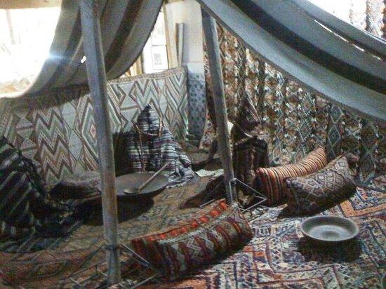 Maison Tiskiwin : Traditionelles Zelt