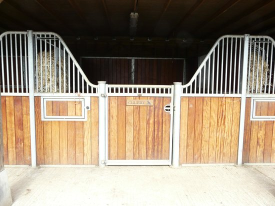 The Old Vicarage Bed & Breakfast: Beautifully appointed stables and secure tack room