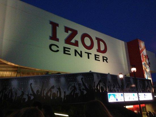 Izod Center: outside