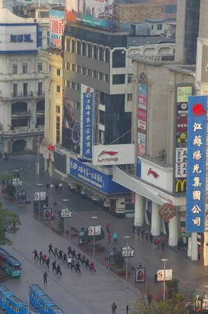 Grand Central Hotel Shanghai: view in the morning