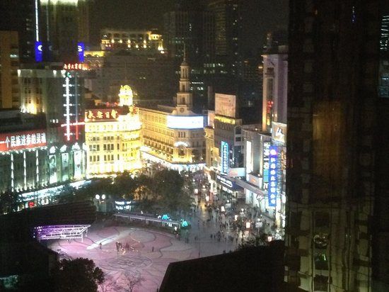 Grand Central Hotel Shanghai: view in the evening