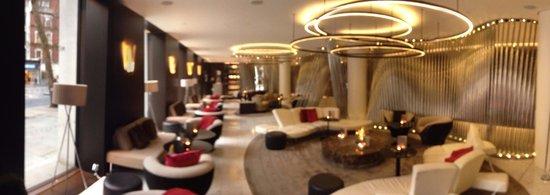 ME London: The ground floor lobby-bar