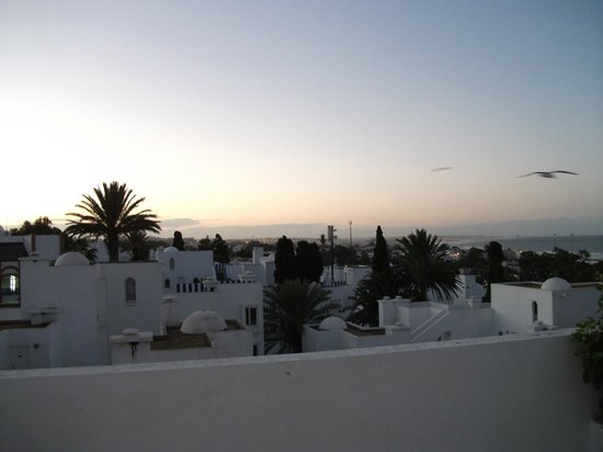 Ryad Mogador Al Madina: View from our balcony