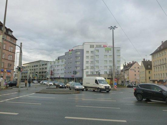 Ibis Nürnberg City am Plärrer: Esterno