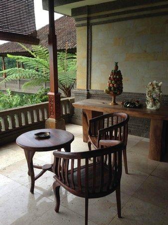 Villa Wastra: Resting corner