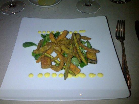 Zum Lowen: frittura di verdurine