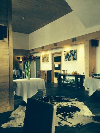 Flocons de Sel : Salle du restaurant