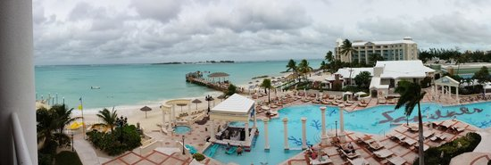 Sandals Royal Bahamian Spa Resort & Offshore Island: View from the room