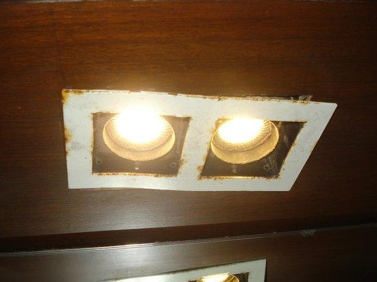 Resort De Coracao : Poorly maintained rooms