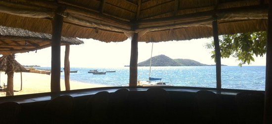 Chembe Eagles Nest: View from the reception