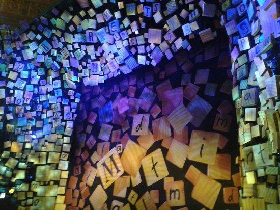 Matilda The Musical: Escenario antes de la función