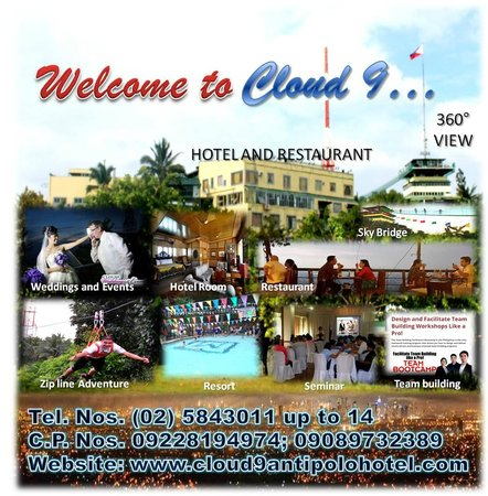 Cloud 9 Hotel Resort: Features from Cloud 9
