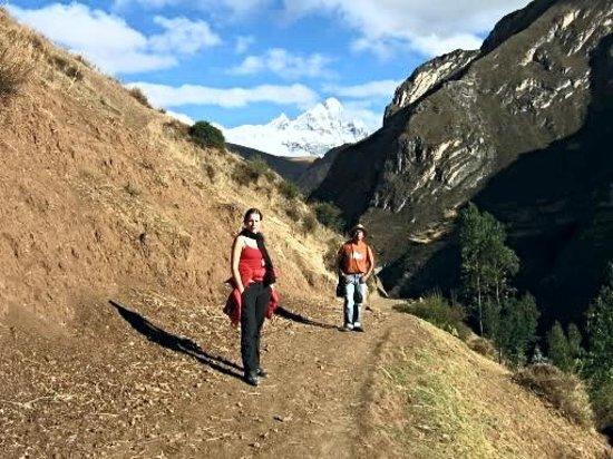 Chavin de Huantar, Peru: Vista del Nevado