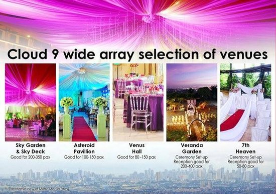 Cloud 9 Hotel Resort: Cloud 9 Weddings and Events