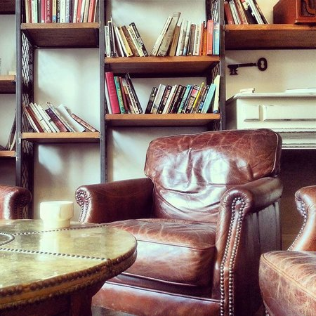 Casa Gracia: Chilling or reading room
