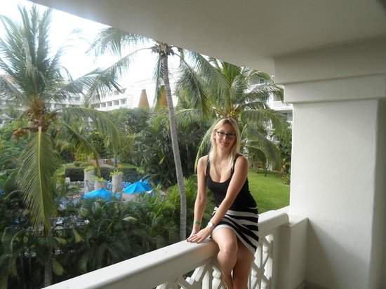 Barcelo Karmina : we saw the ocean and the hotel from our view