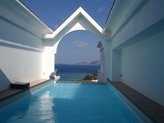 Okinawa Spa Resort EXES : プライベートプール
