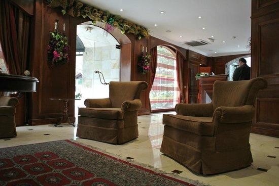 Park 10 Hotel: Eingangsbereich