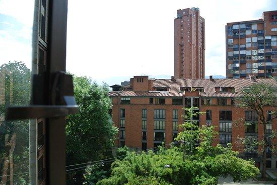 Park 10 Hotel: Aussicht