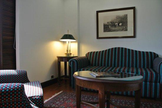 Park 10 Hotel: Sitzecke