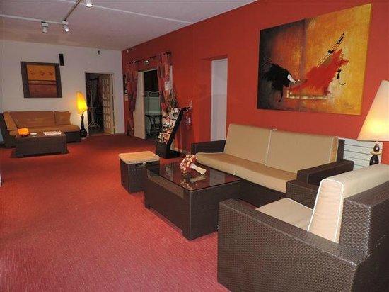 Hôtel La Siesta : Salon réception