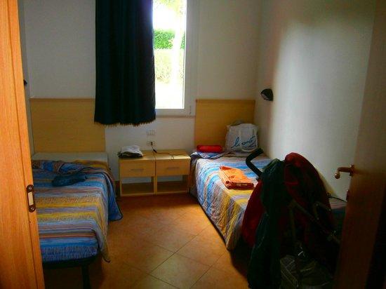 Camping Bella Italia: una delle camere