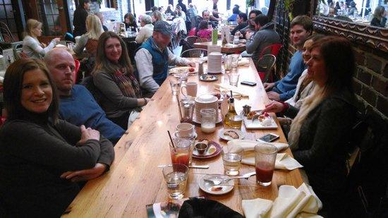 Cafe Ba-Ba-Reeba!: Surprise Birthday Brunch with Family
