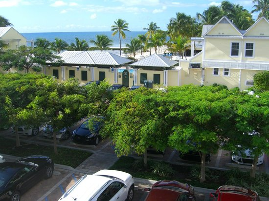 Southernmost Beach Resort : the sea view for whichwe paid loadsa £s / $s
