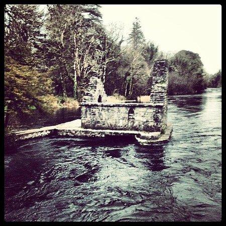 Ashford Castle: monks fishing hut