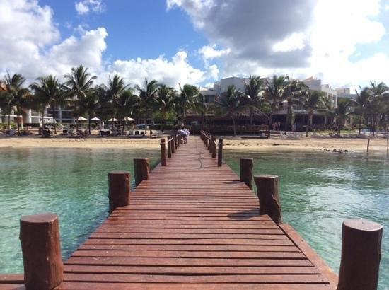 Secrets Aura Cozumel: the pier