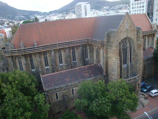 Taj Cape Town: dalla finestra..