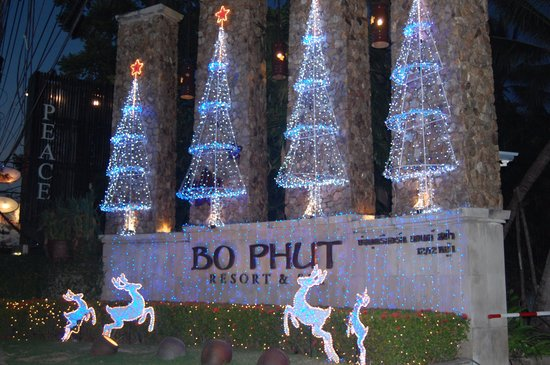 Bo Phut Resort & Spa : Entrance to the Hotel